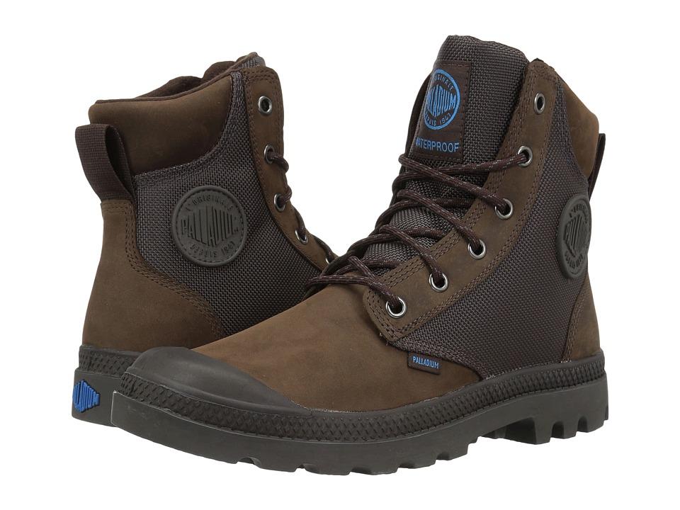 Palladium Pampa Sport Cuff WPN (Chocolate/Forged Iron) Boots