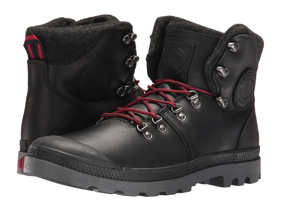 Palladium Pallabrouse Hikr (Black/Red/Castlerock) Men