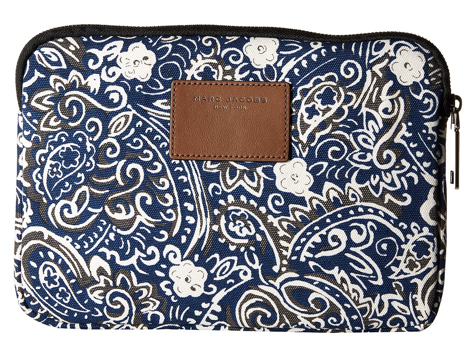 Marc Jacobs - Paisley Tech Tablet Case (Rail Blue Multi) Wallet