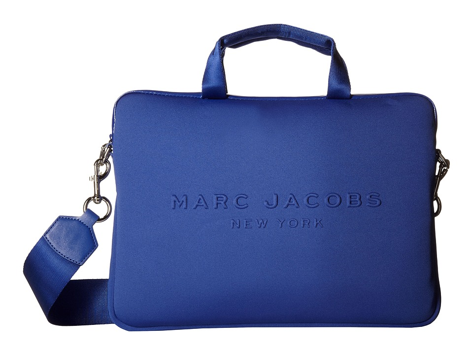 Marc Jacobs - Neoprene Tech 13 Commuter Case (Cobalt Blue) Computer Bags