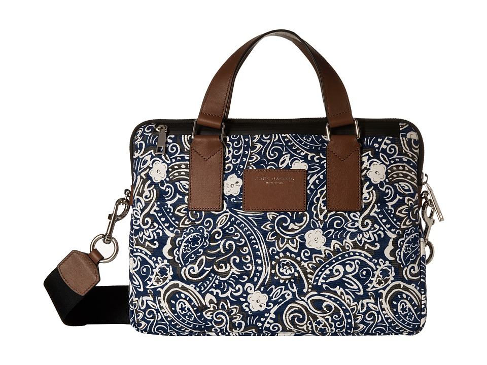 Marc Jacobs - Paisley Tech 13 Commuter Case (Rail Blue Multi) Wallet