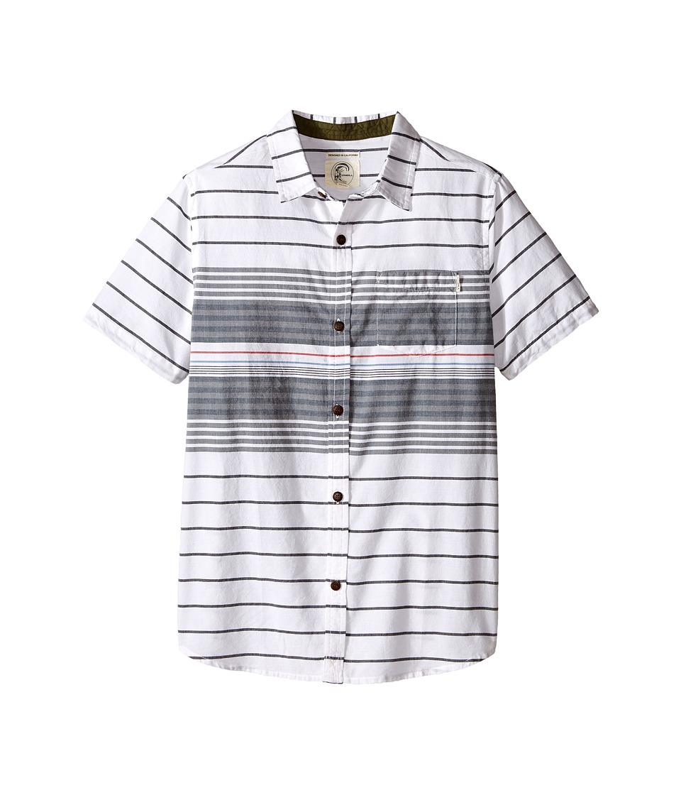 O'Neill Kids - Tandy Short Sleeve Shirt (Big Kids) (White) Boy's Short Sleeve Button Up