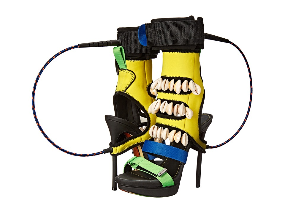 DSQUARED2 - Neoprene Sandal (Giallo) High Heels