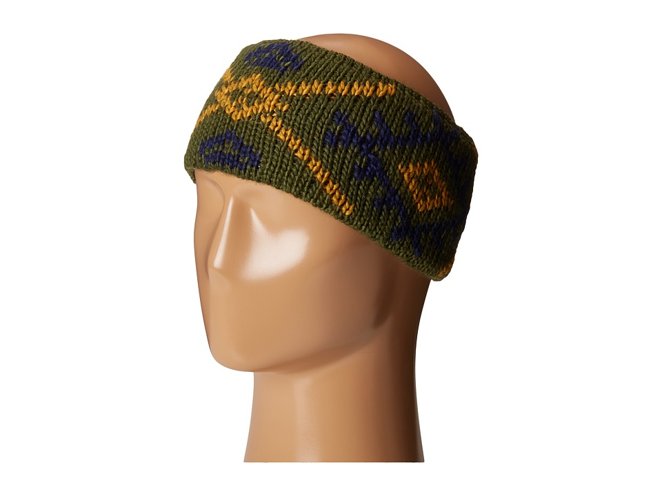 Coal - The Purcell Headband (Olive) Headband