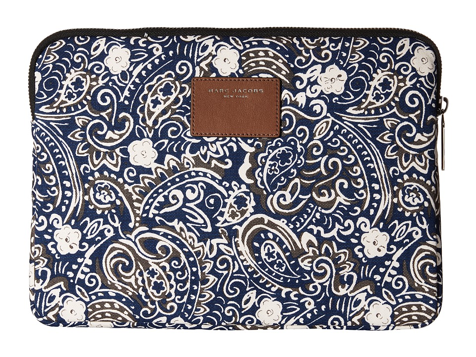 Marc Jacobs - Paisley Tech 13 Computer Case (Rail Blue Multi) Computer Bags