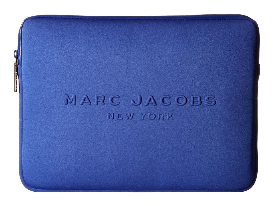 Marc Jacobs - Neoprene Tech 13 Computer Case (Cobalt Blue) Computer Bags
