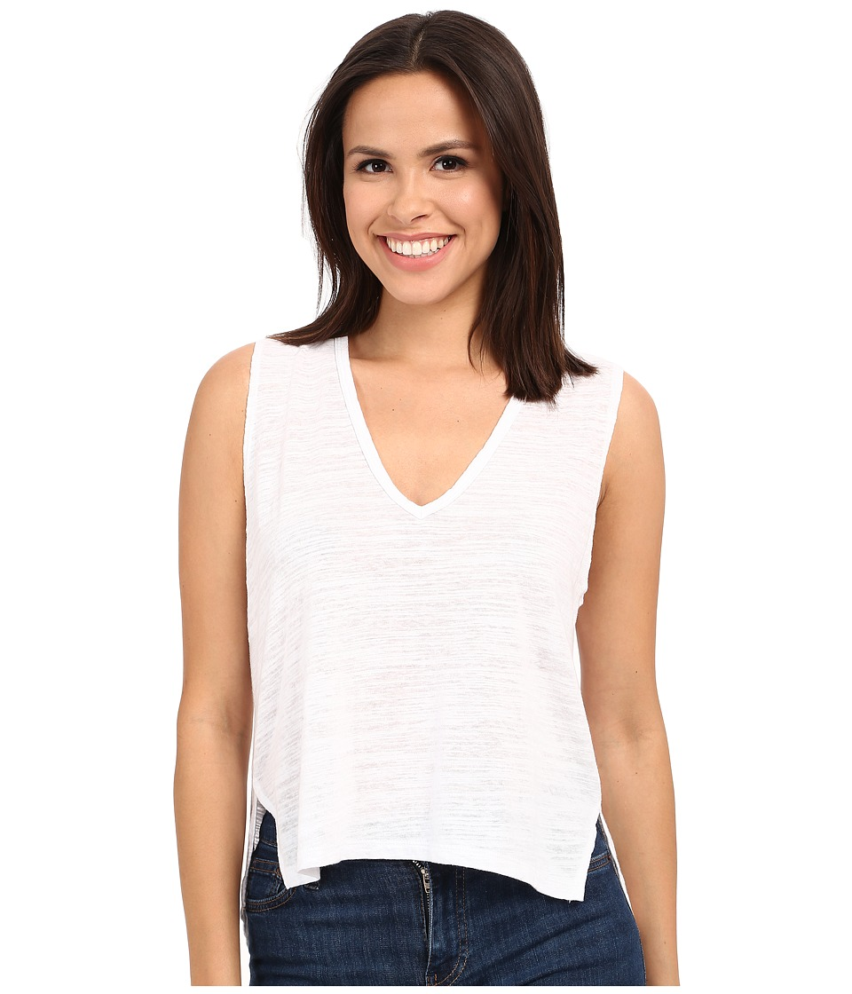 LNA - Backtail Sleeveless (White) Women's Sleeveless