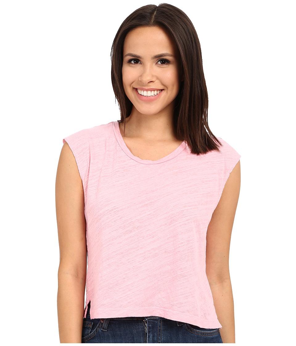 LNA - Skater Crop Muscle Tank Top (Rosie) Women's Sleeveless