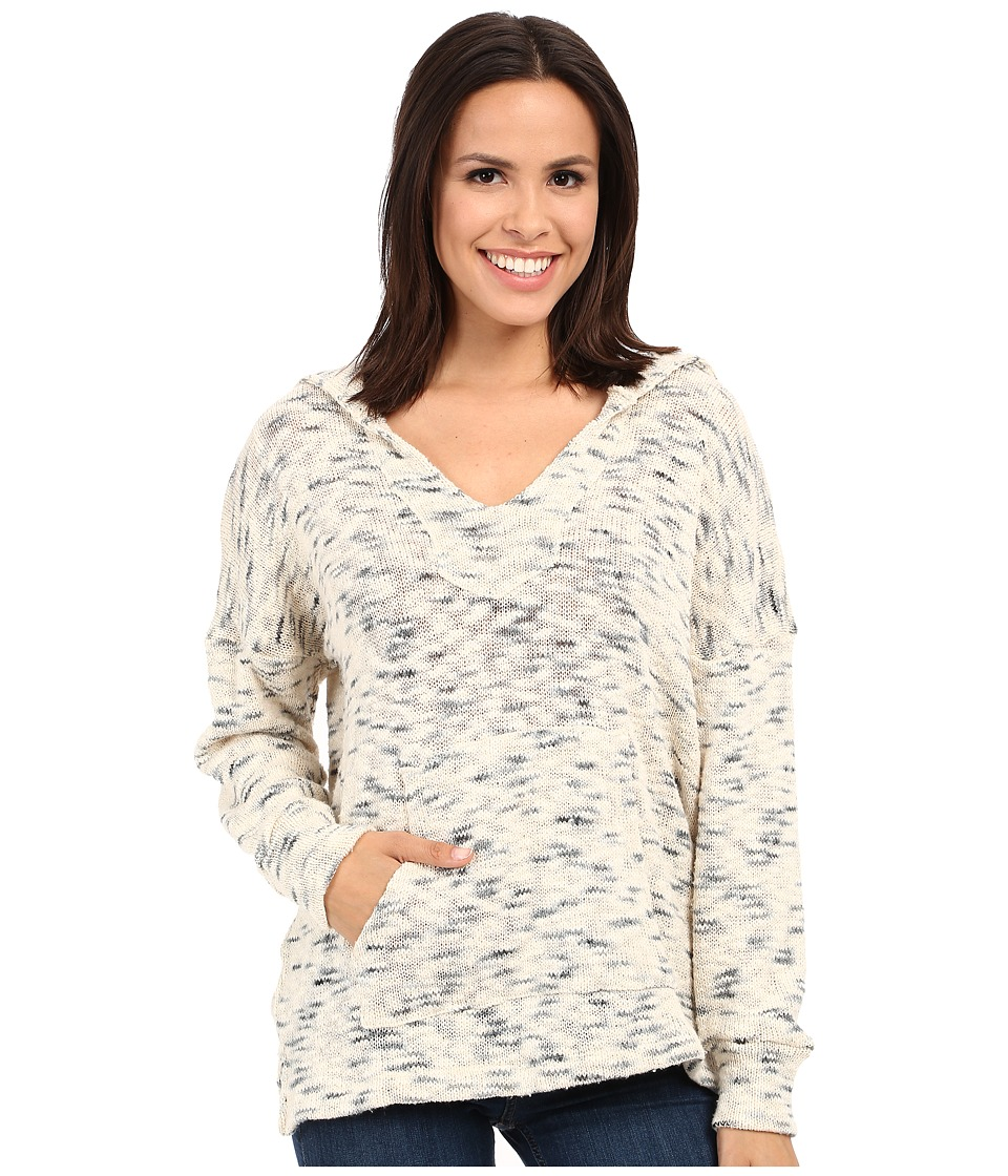 LNA - Todos Sweater Hoodie (Ivory Marled) Women's Sweater
