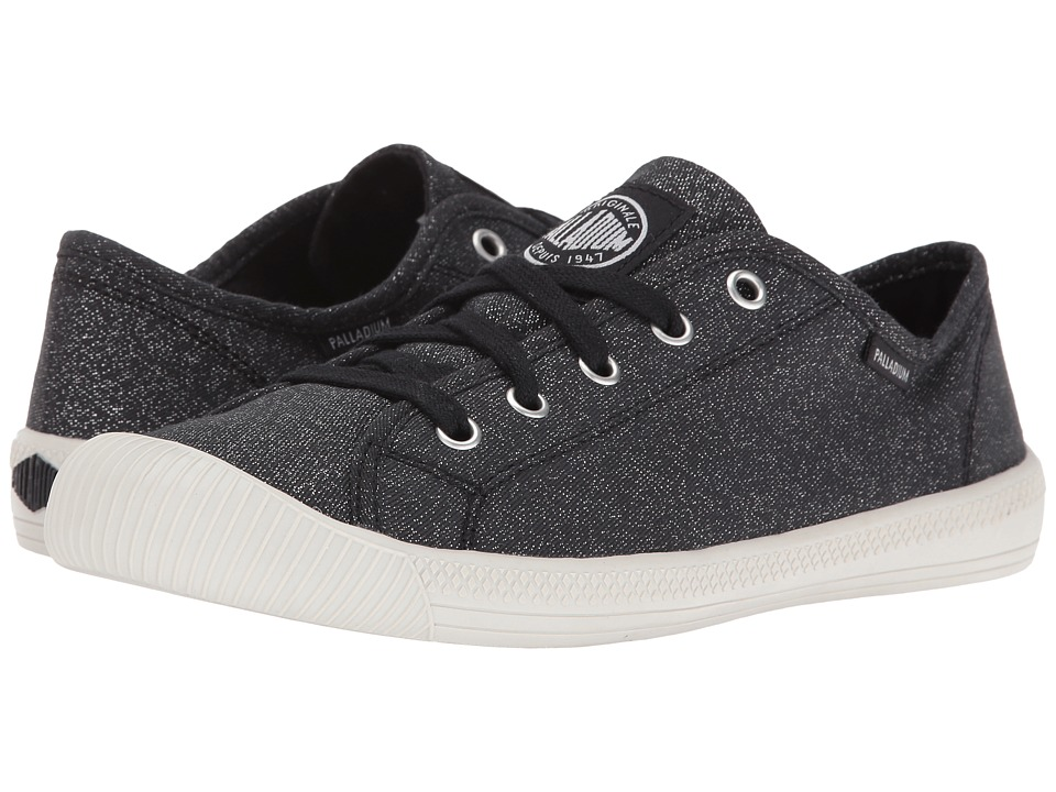 Palladium Flex Lace MTL (Black/Silver Birch) Women