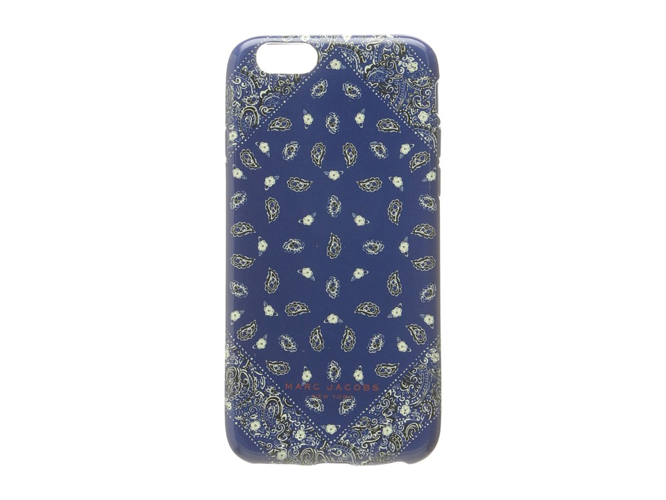 Marc Jacobs - Paisley iPhone 6 Case (Rail Blue Multi) Cell Phone Case