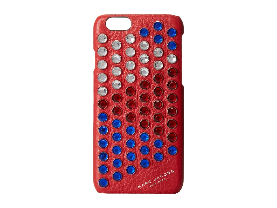 Marc Jacobs - PYT iPhone 6 Case (Bright Red Multi) Cell Phone Case