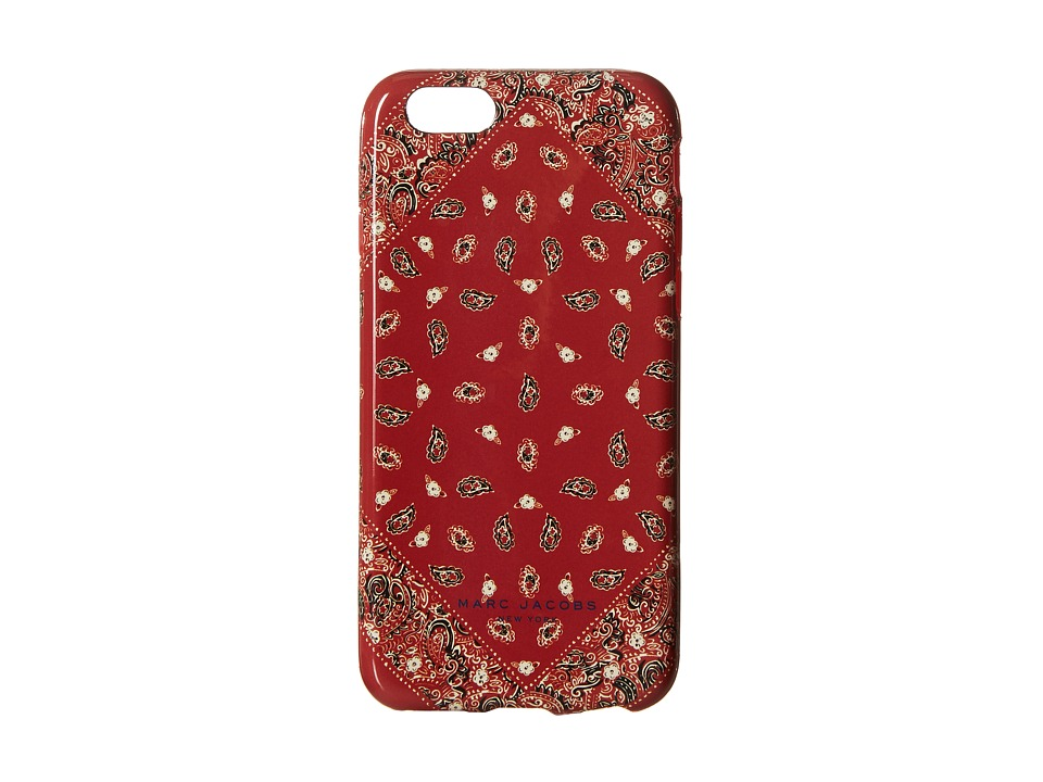 Marc Jacobs - Paisley iPhone 6 Case (Chili Pepper Multi) Cell Phone Case