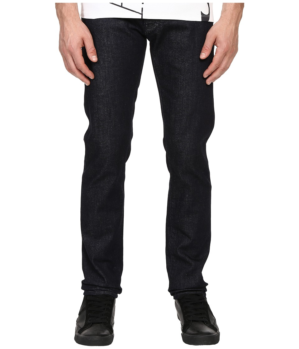 Armani Jeans - Slim Fit Five-Pocket Jeans in Denim (Denim) Men's Jeans