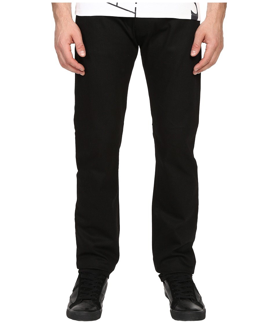 Armani Jeans - Five-Pocket Denim in Black (Black) Men's Jeans