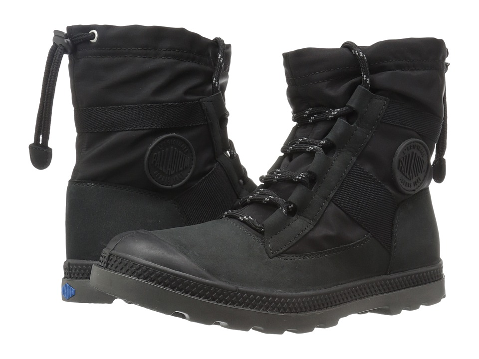 Palladium - Pampa Hi Blitz LP (Black) Women's Lace-up Boots