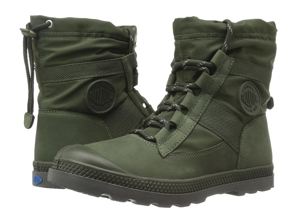 Palladium Pampa Hi Blitz LP (Army Green) Women