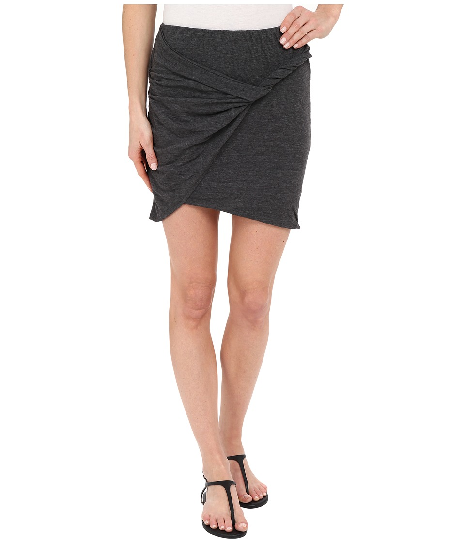 LNA - Double Layer Mini Skirt (Granite) Women's Skirt