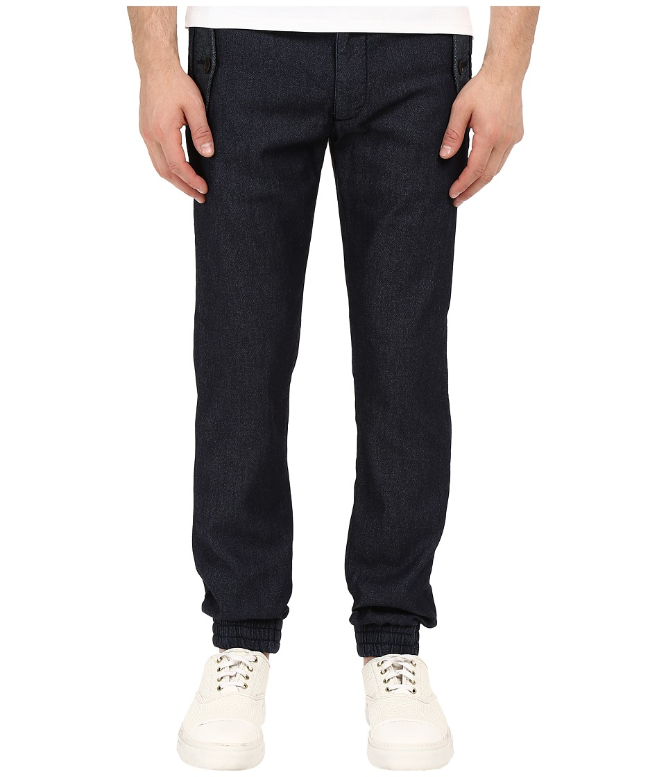 Armani Jeans - Tappered Jogger (Blue) Men's Casual Pants