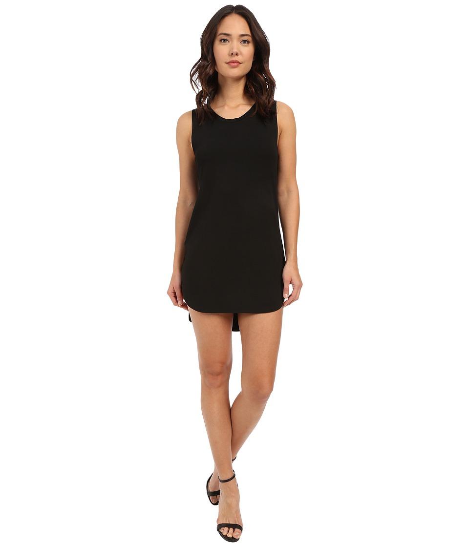 LNA - Cardiff Cut Out Dress (Black) Women's Dress