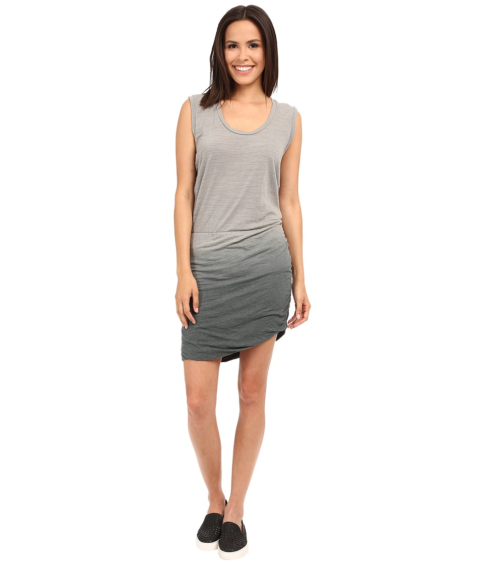 LNA Double Layer Tank Dress (Ombre Granite) Women