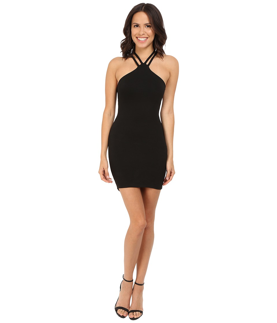 LNA - Santa Cruz Dress (Black) Women's Dress