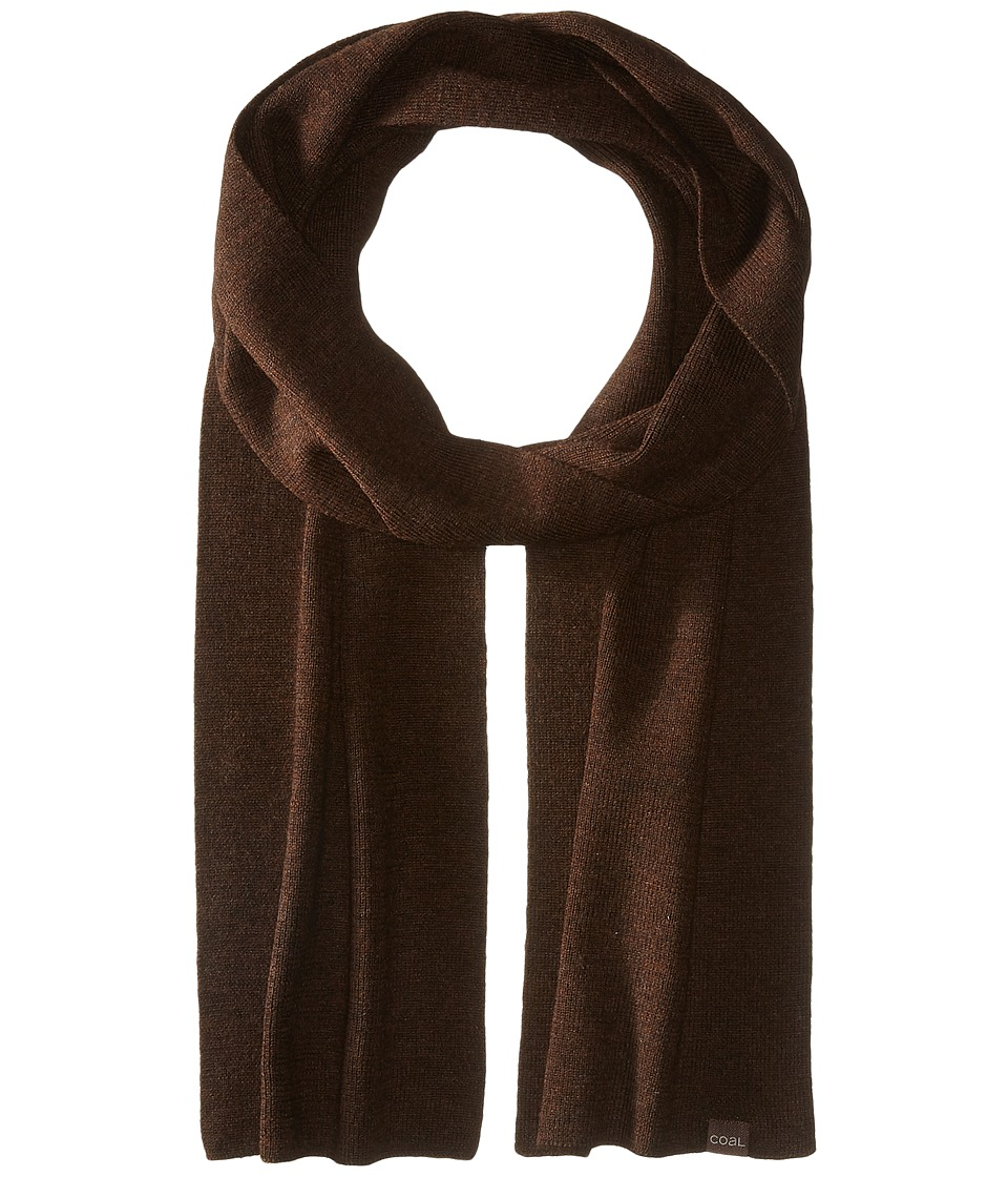 Coal - The Mesa Scarf (Brown) Scarves