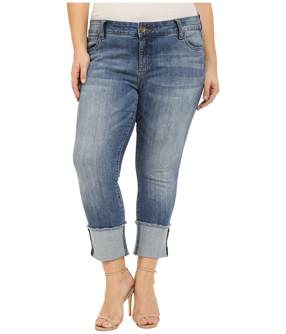 KUT from the Kloth - Plus Size Cameron Straight Leg in Fervent (Fervent) Women's Jeans