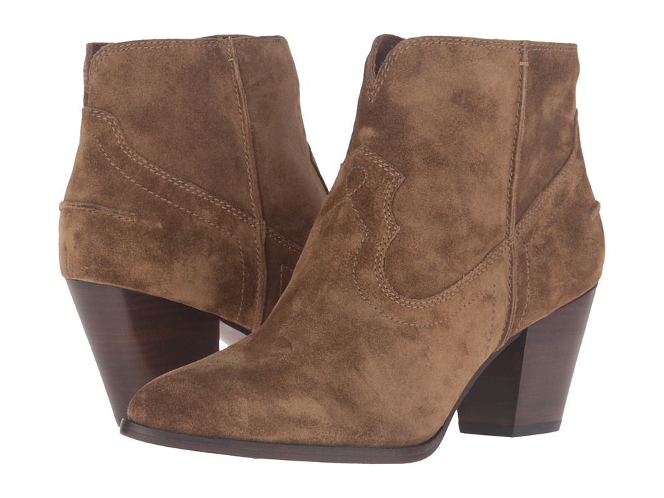 Frye - Renee Seam Short (Cashew) Cowboy Boots