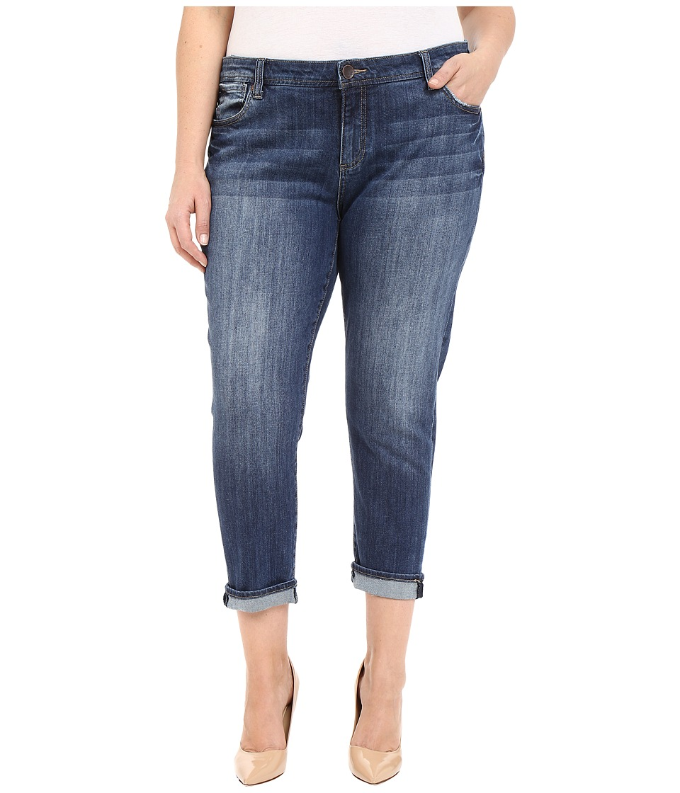KUT from the Kloth - Plus Size Catherine Slim Boyfriend in Savior (Savior) Women's Jeans