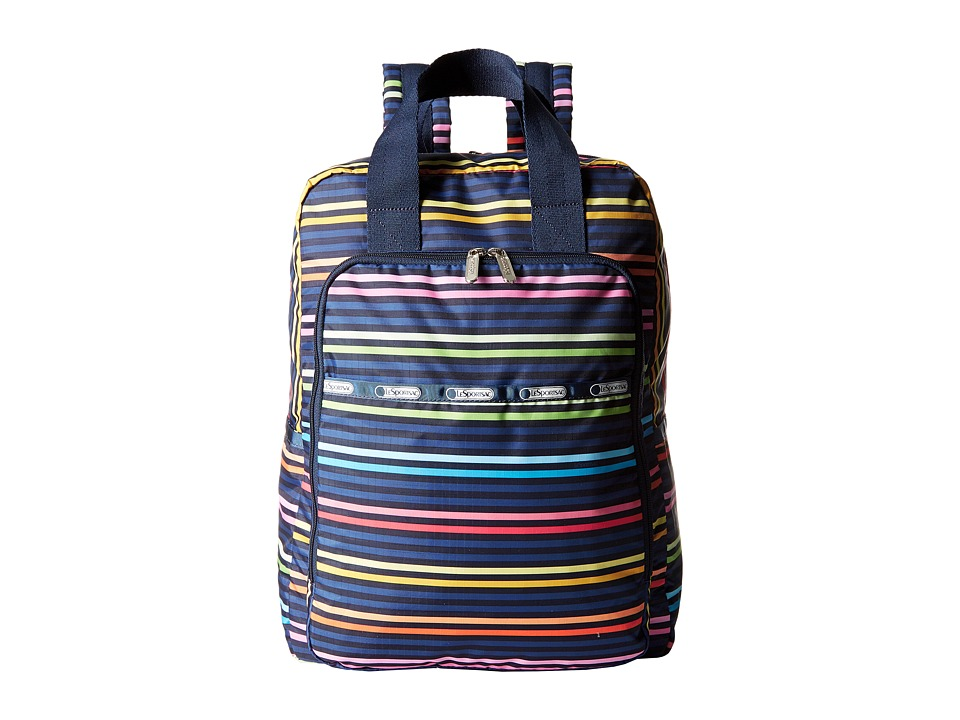 LeSportsac - Utility Baby Backpack (Baby Lestripe) Backpack Bags