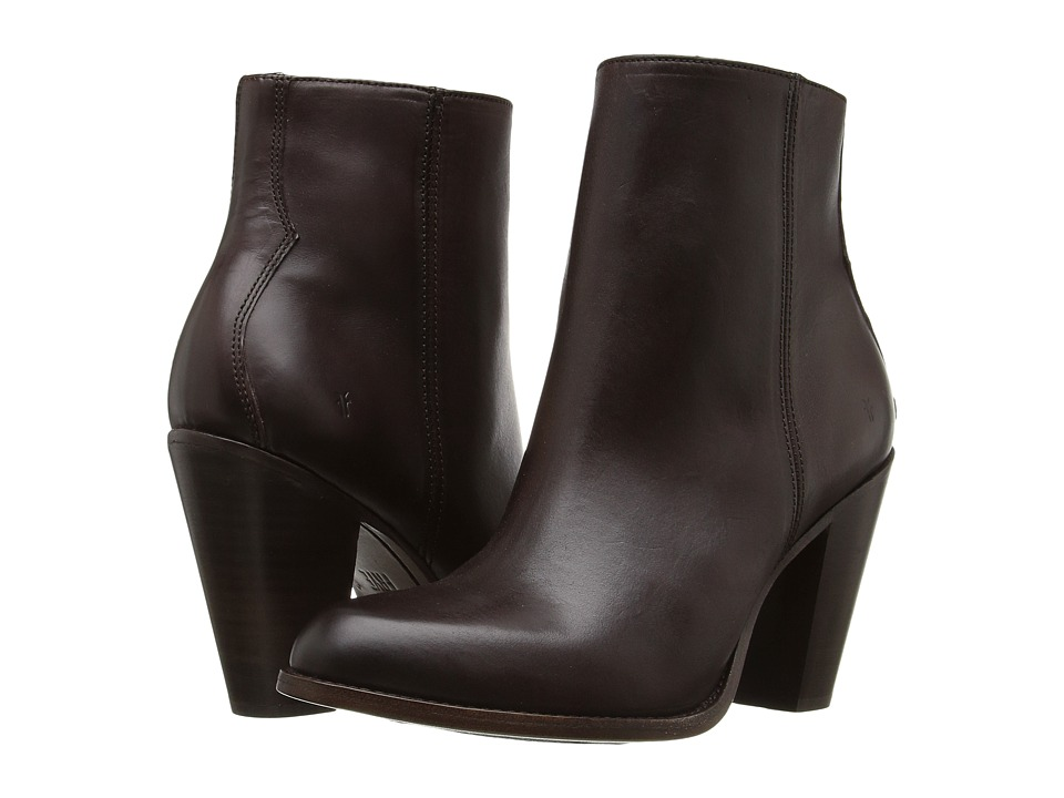 Frye - Jenny Bootie (Dark Brown) Women's Boots