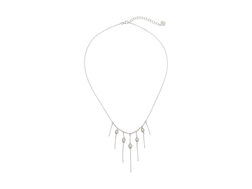 Majorica - Willow Necklace (Silver/White) Necklace