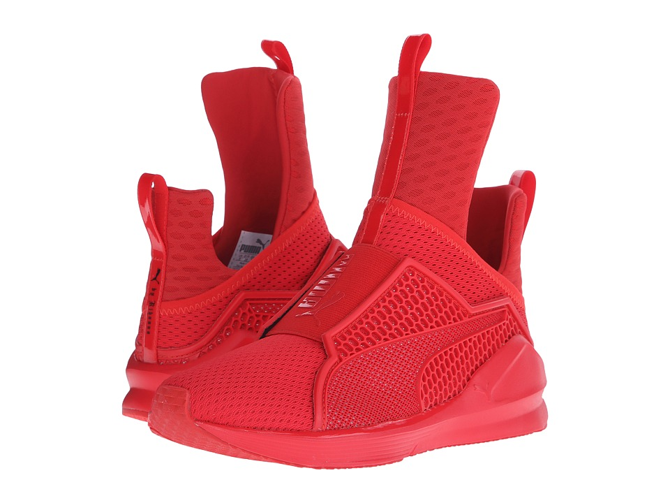 PUMA - Fenty Trainer (High Risk Red/High Red) Women's Shoes