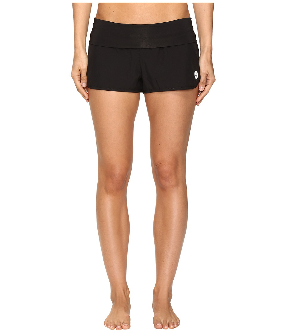 Roxy - Endless Summer Boardshorts (True Black) Women's Swimwear