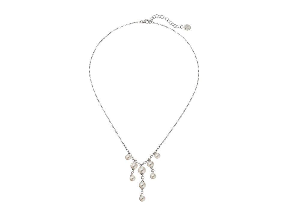 Majorica - Lucy Necklace (Silver/White) Necklace