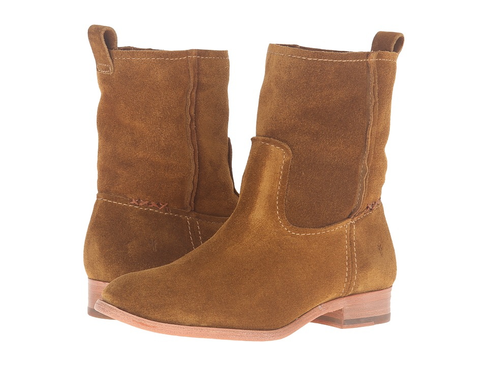 Frye Cara Short (Wheat Oiled Suede) Women