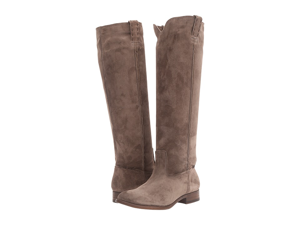 Frye Cara Tall (Elephant Oiled Suede) Women