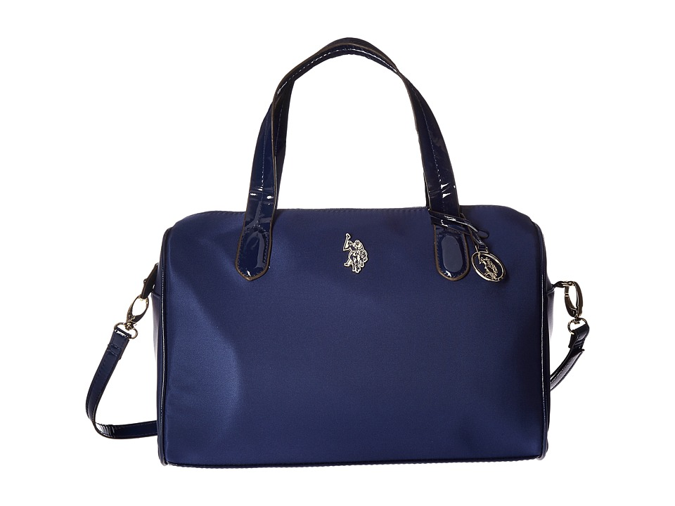 U.S. POLO ASSN. - Bolton Satchel (Midnight) Satchel Handbags
