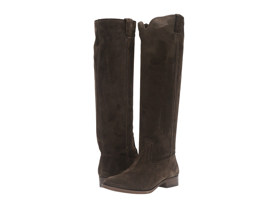 Frye Cara Tall (Fatigue Oiled Suede) Women