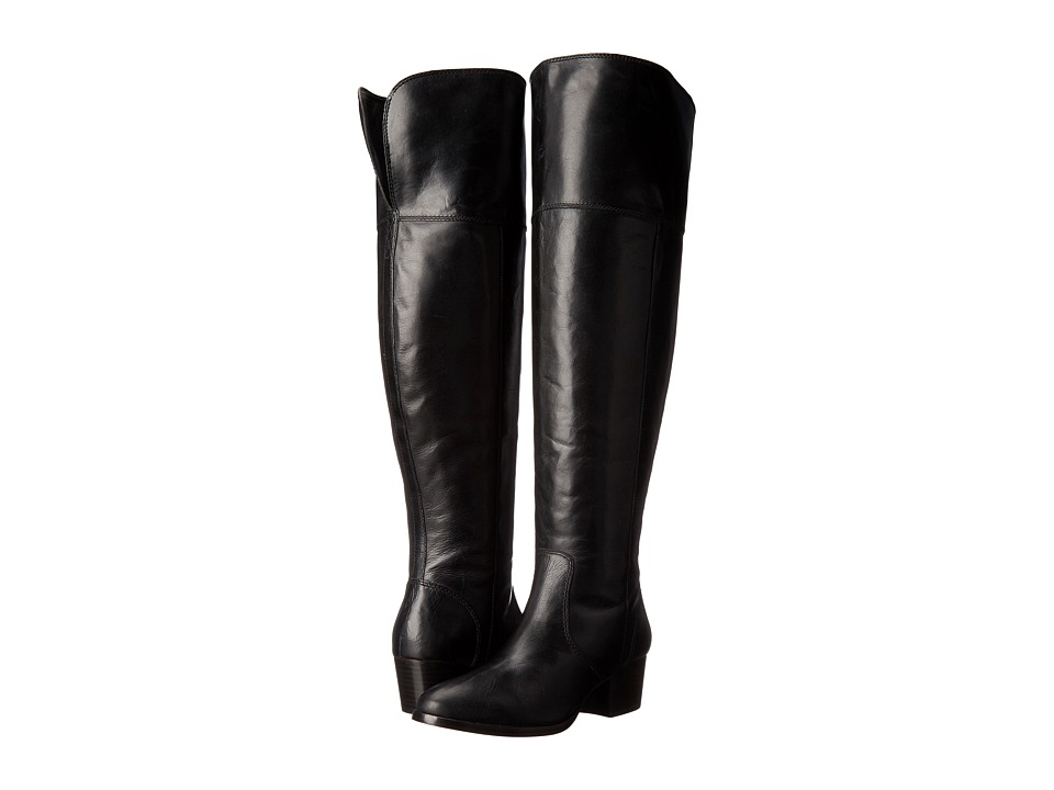 Frye - Clara Over-The-Knee Wide (Black Extended) Women's Shoes