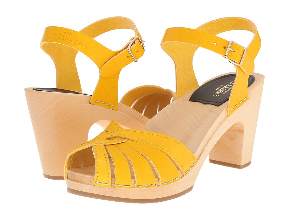 Swedish Hasbeens - Fredrica (Yellow) High Heels