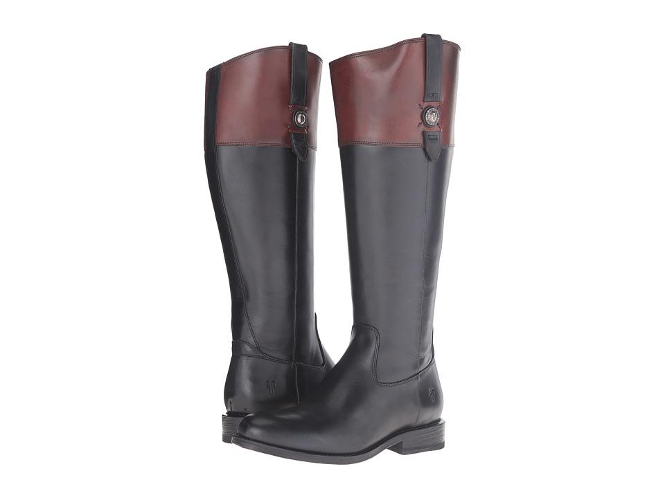 Frye - Jayden Button Tall Wide (Black Multi Extend) Women's Boots