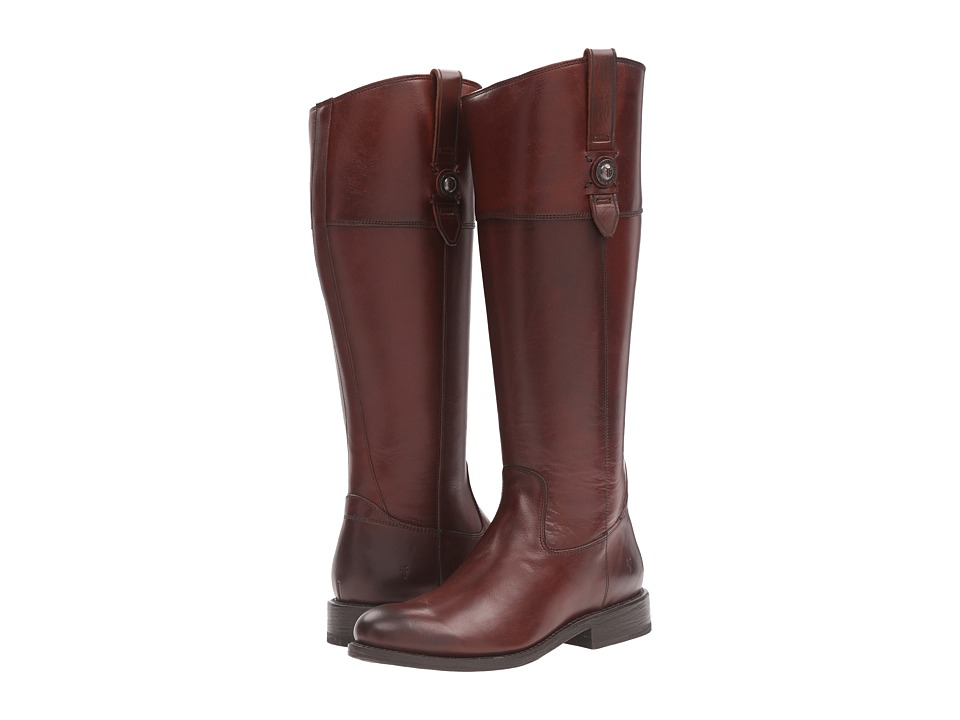 Frye - Jayden Button Tall Wide (Redwood Extended) Women's Boots
