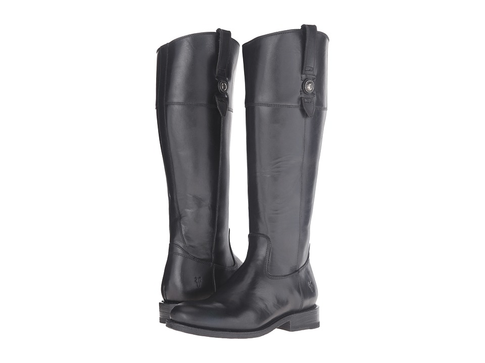 Frye - Jayden Button Tall Wide (Black Extended) Women's Boots