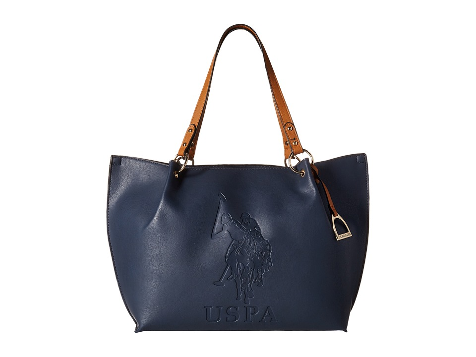 U.S. POLO ASSN. - Kingston Tote (Navy) Tote Handbags