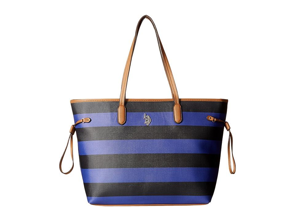 U.S. POLO ASSN. - Evelyn Tote (Navy) Tote Handbags