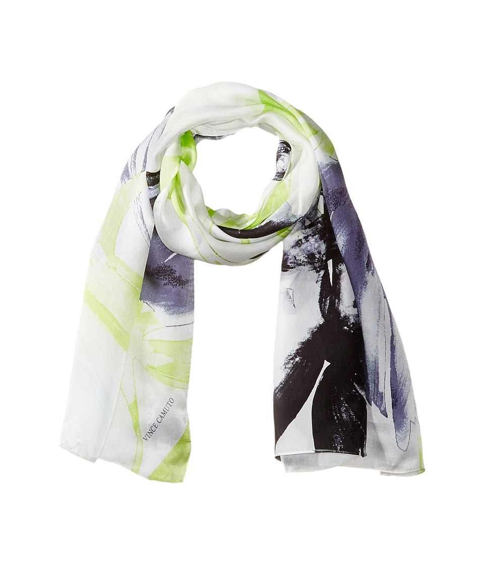 Vince Camuto - Bold Strokes Scarf (Grey Sconce) Scarves