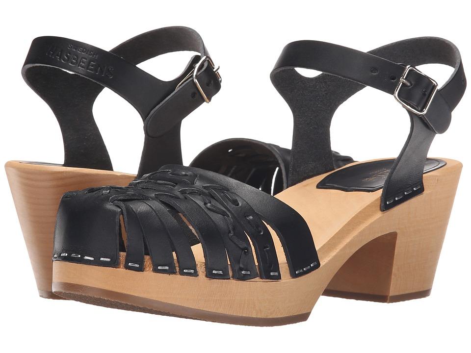 Swedish Hasbeens Maya (Black) High Heels