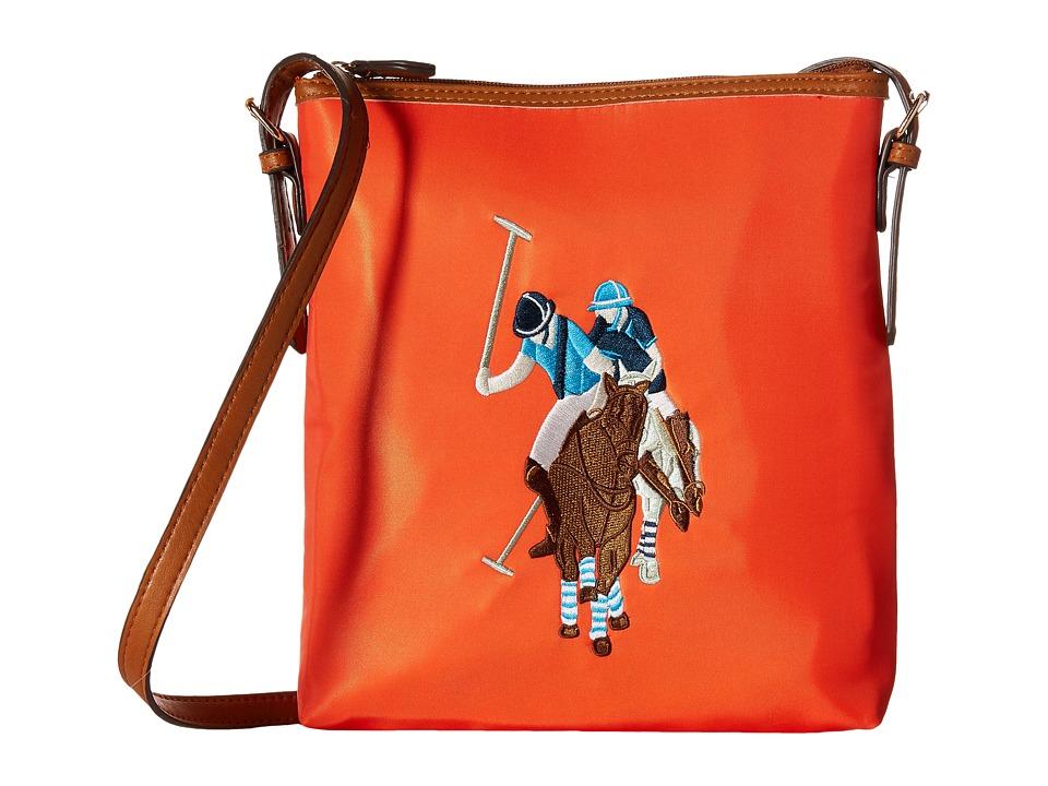 U.S. POLO ASSN. - Chester Sh-Bag (Flame) Handbags